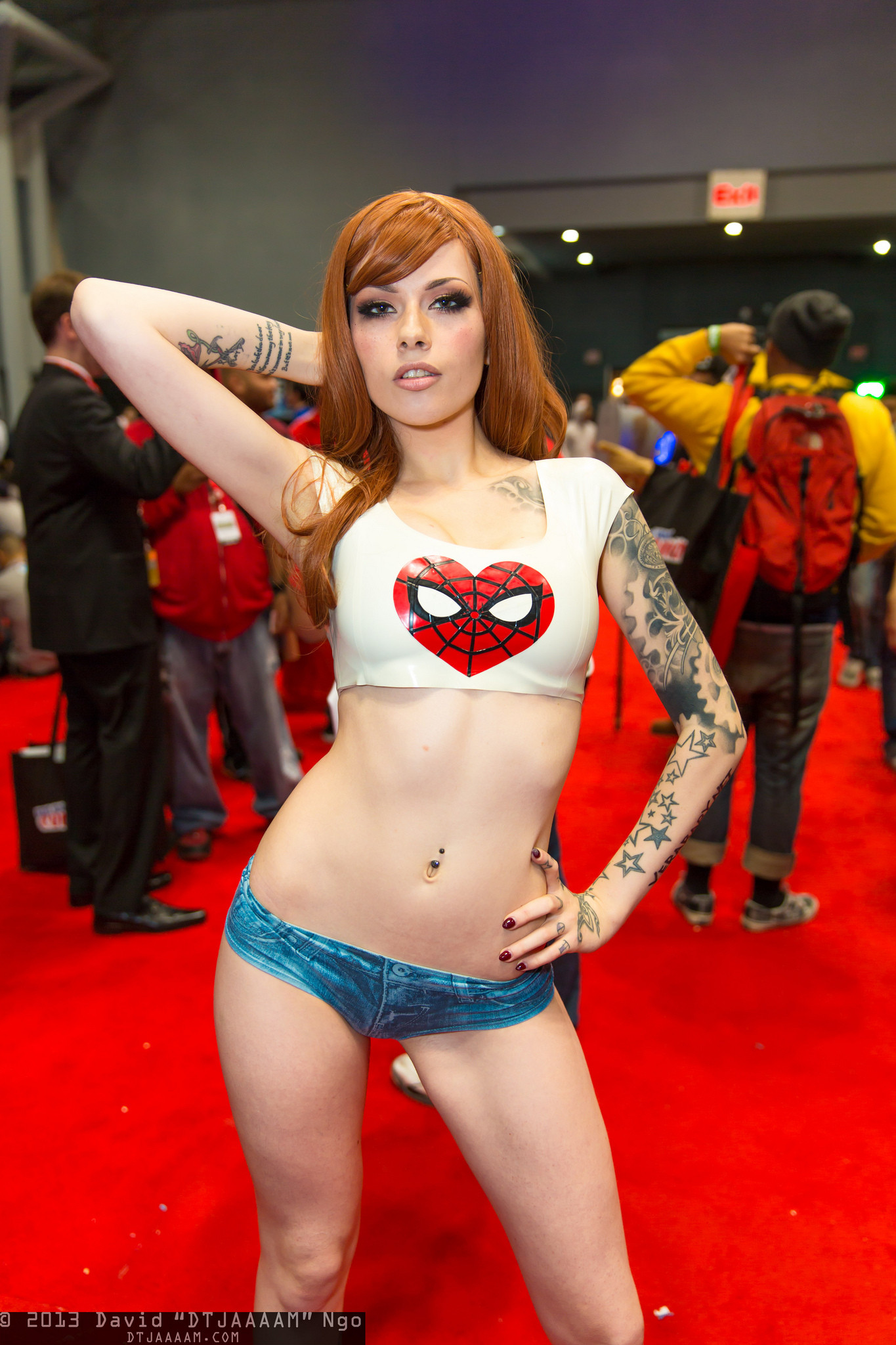 Mary jane cosplay naked