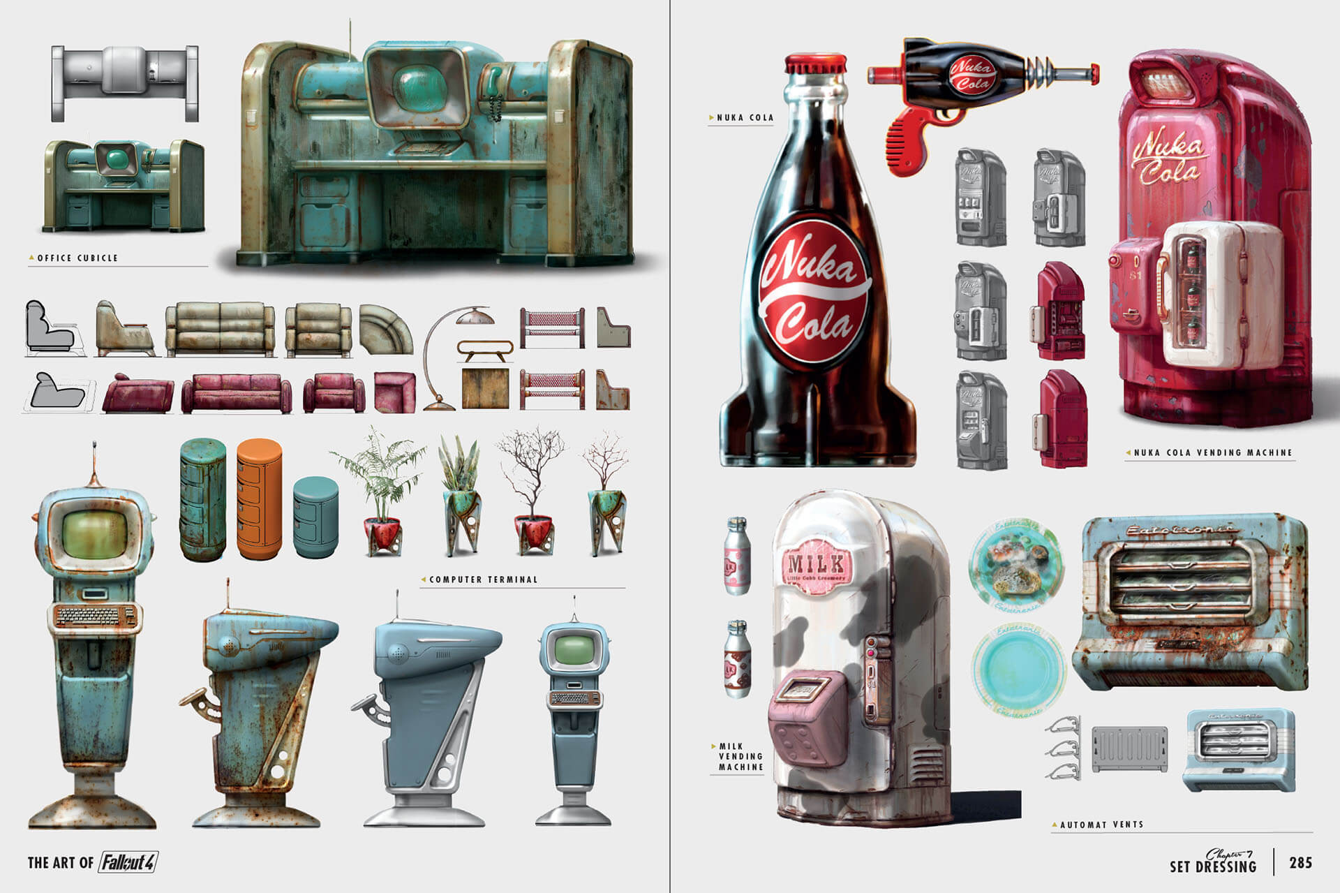 Bethesda vous offre un aper u de the art of fallout 4 for Fallout 4 bedroom ideas