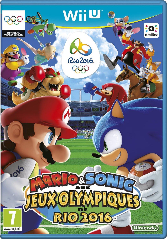 Mario Wii U Games : Test de mario et sonic aux jeux olympiques rio