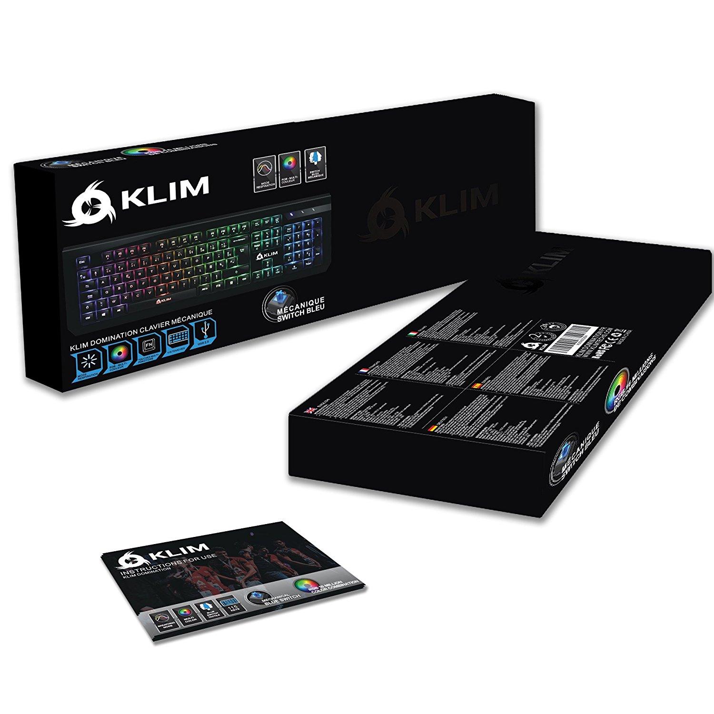 klim domination un clavier gamer vraiment pas cher et performant page 1 gamalive. Black Bedroom Furniture Sets. Home Design Ideas