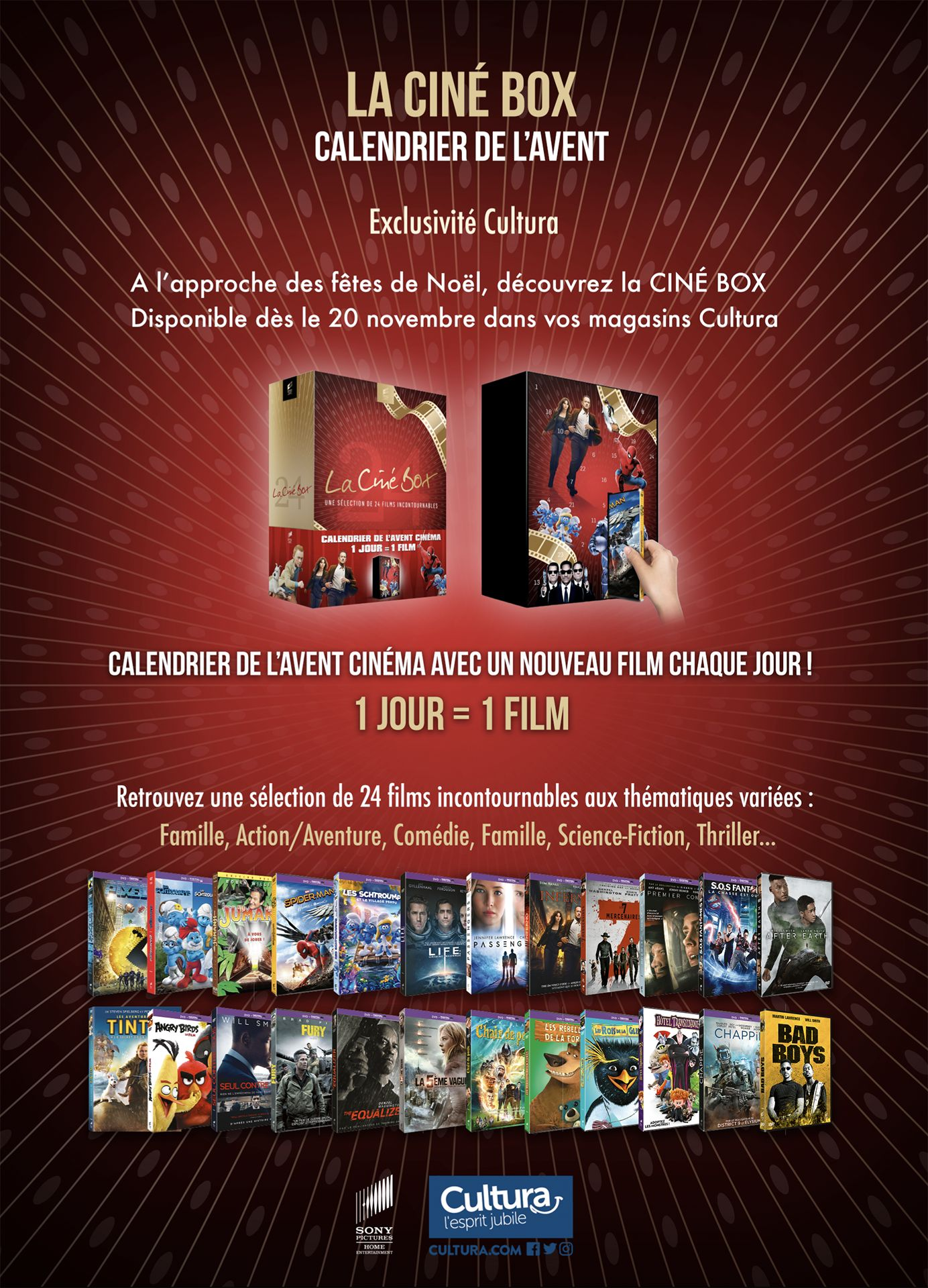 Calendrier de l'Avent DVD : On se fait un film par jour ? - page 1- GamAlive
