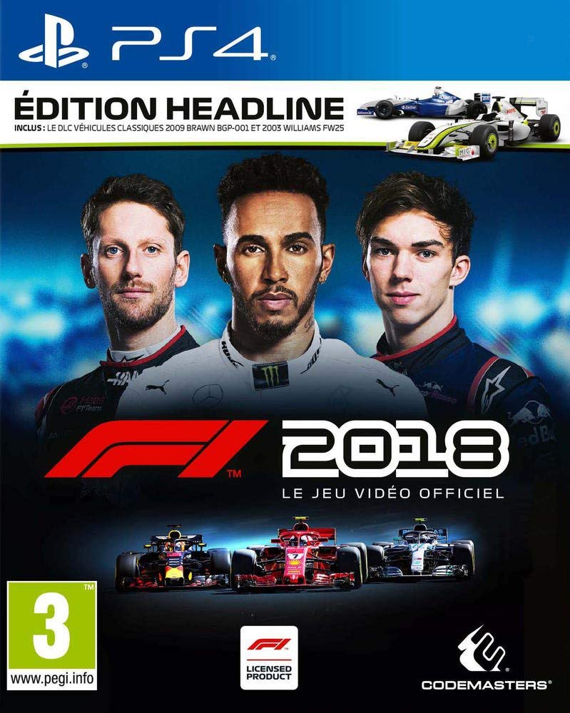 test de f1 2018 pc xbox one ps4 page 1 gamalive. Black Bedroom Furniture Sets. Home Design Ideas