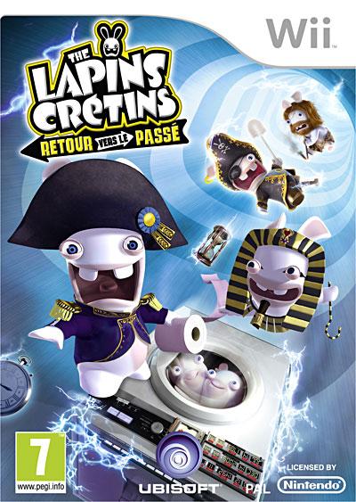 Test The Lapins Crétins : Retour vers le passé (Wii)