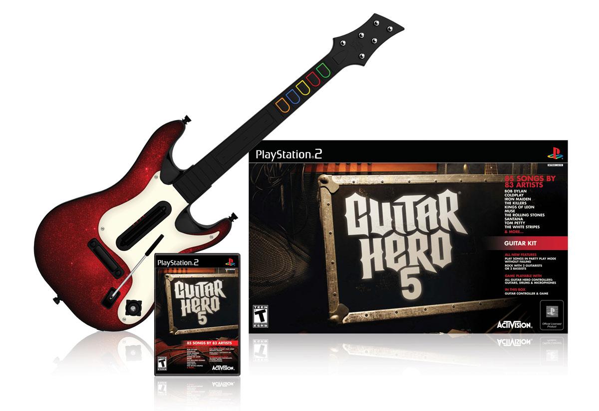 la guitare de guitar hero 5 d voil e page 1 gamalive. Black Bedroom Furniture Sets. Home Design Ideas