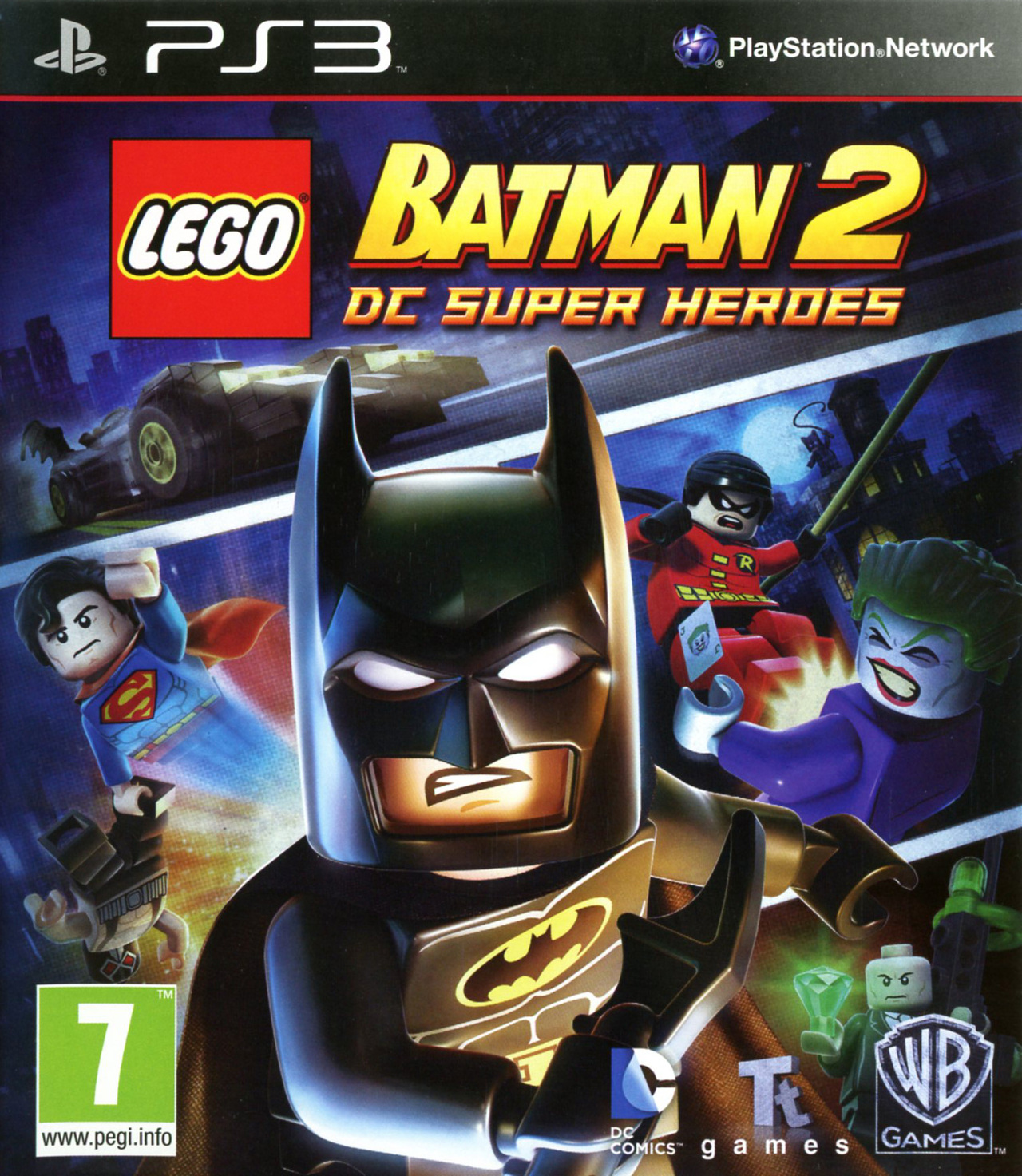 Test lego batman 2 dc super heroes pc xbox 360 ps3