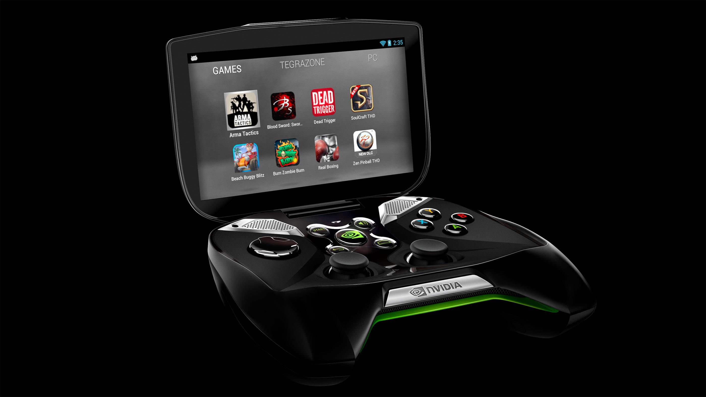 Nvidia annonce shield une nouvelle console portable - Consolle porta pc ...