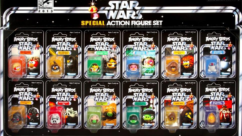 [Hasbro] De nouvelles figurines Angry birds Star Wars !  Planète Star Wars