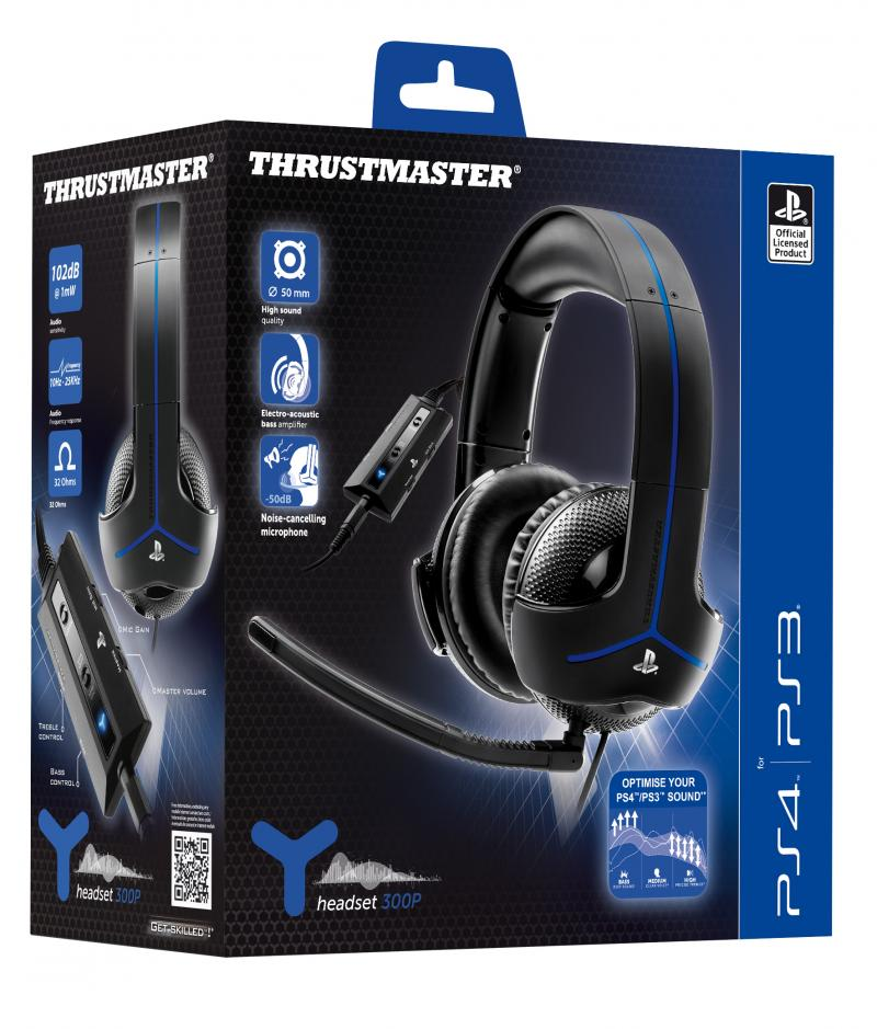 casque ps4 et ps3 thrustmaster y 300p page 1 gamalive. Black Bedroom Furniture Sets. Home Design Ideas