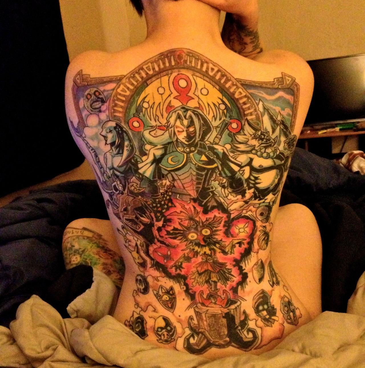 Un Tatouage Ulta Sexy De Zelda Page 1 Gamalive