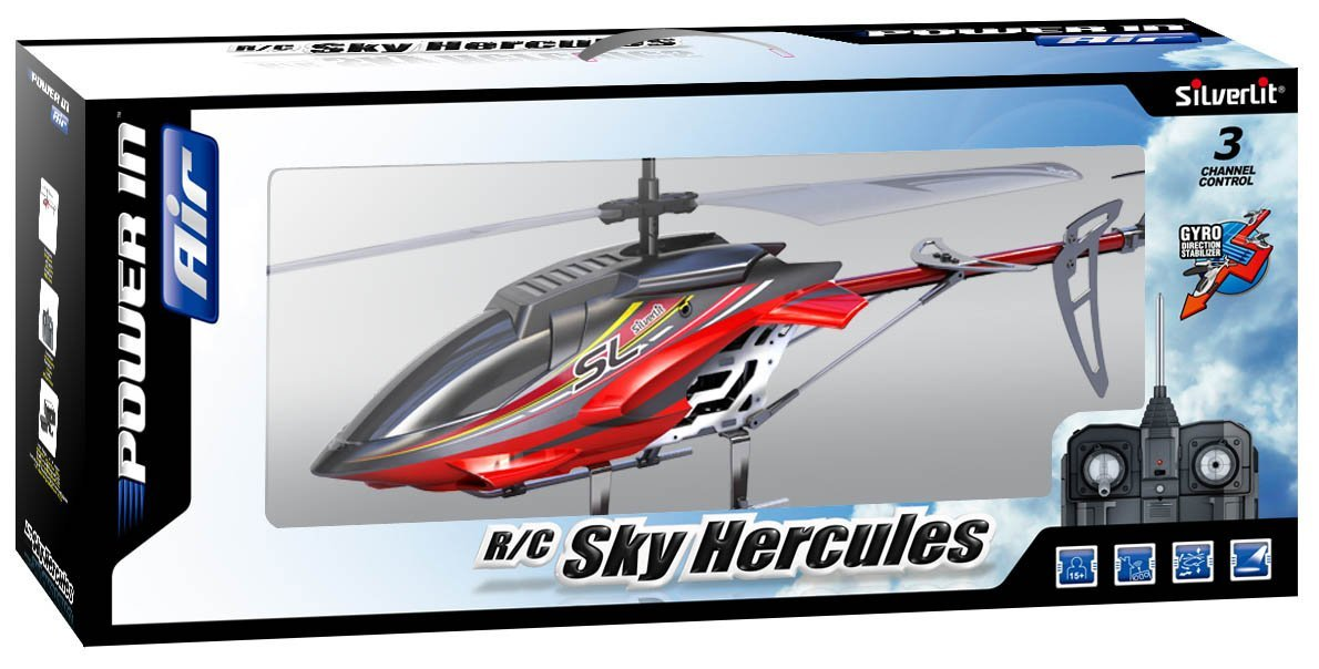 H licopt re t l command silverlit sky hercules page 1 for Interieur helicoptere
