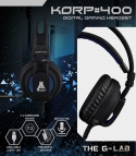 The G-Lab Korp 400 : un pur casque 7.1 pour gamer