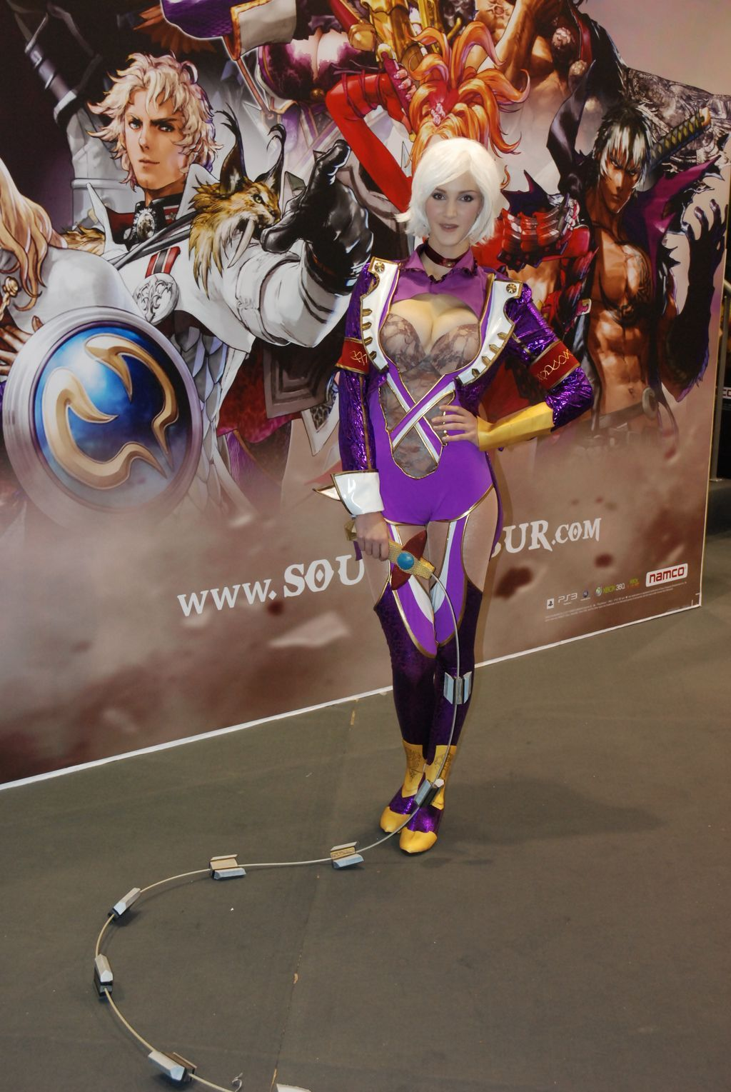 Paris Games Week - CosPlay de Ivy Soul Calibur V