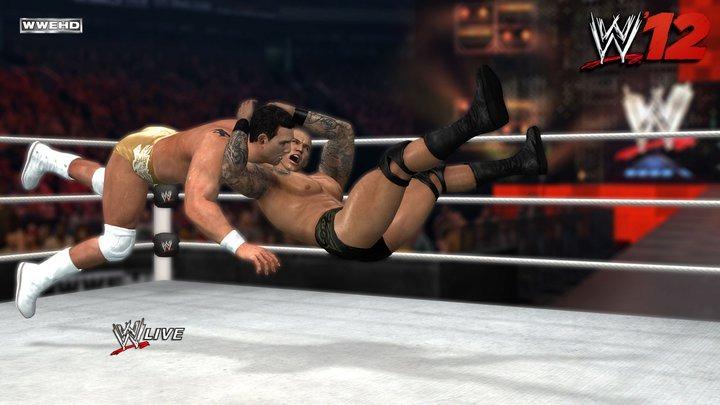 لعبة المصارعة الحرة wwe 2012 على ps2( المصارعون المحترفون فقط من يصمدوون)