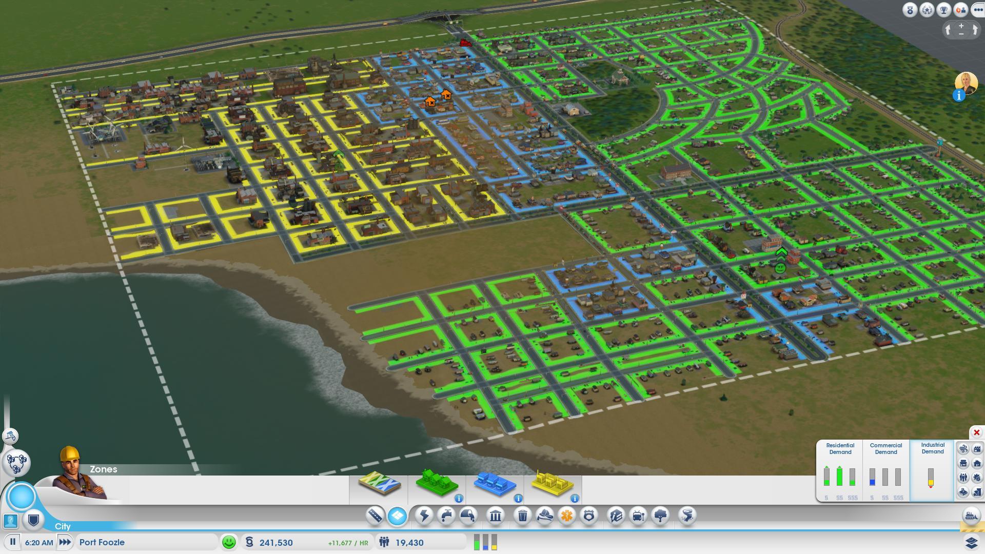 Cities Skylines Bigger Build Area