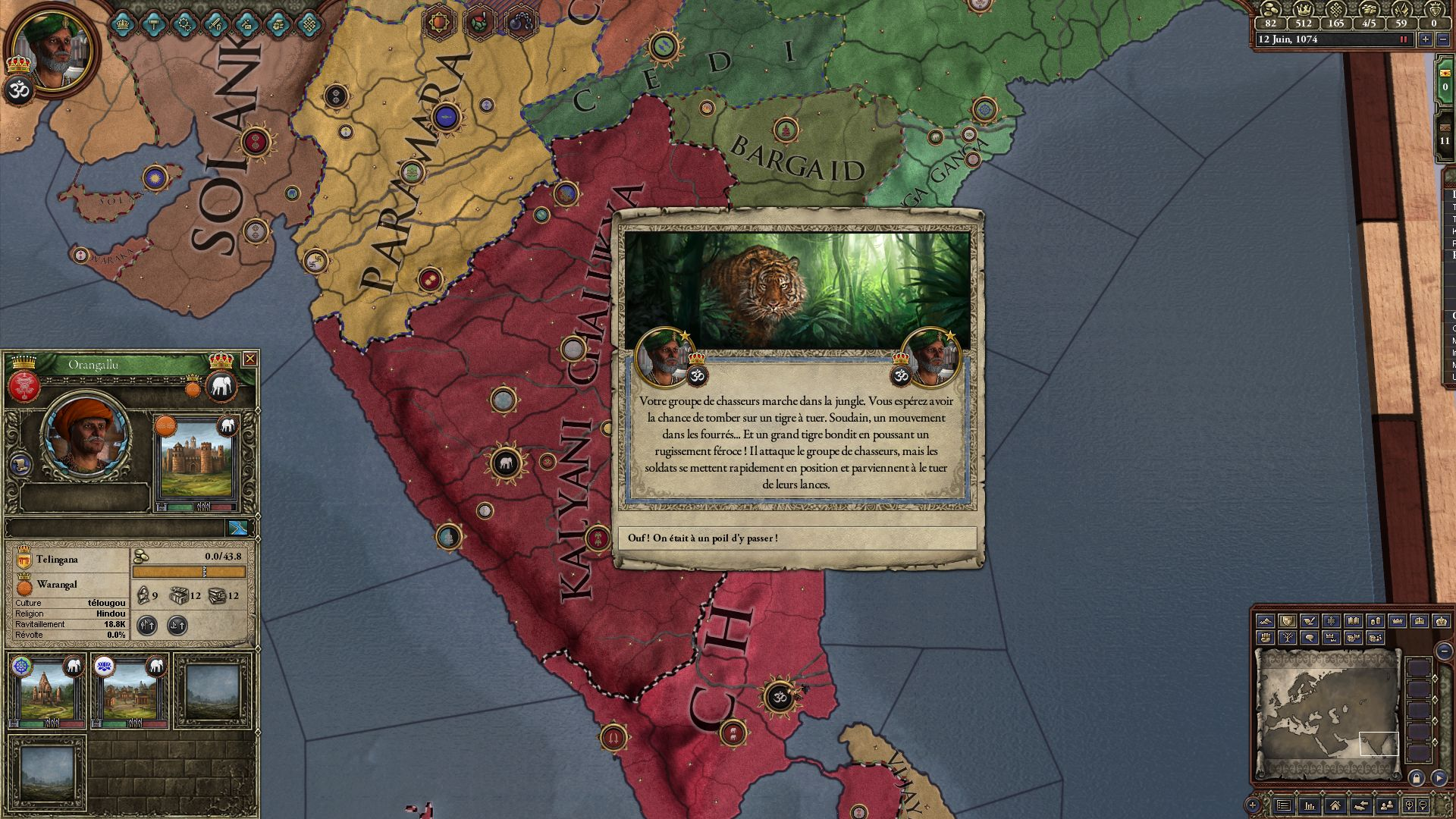 Images du jeu Crusader Kings II : Rajas of India (PC) :