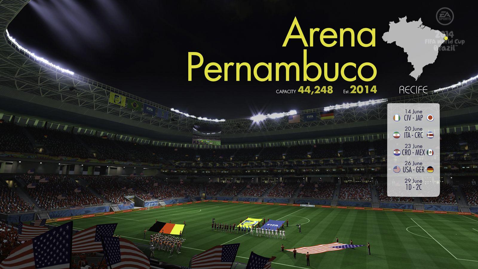 Test de coupe du monde de la fifa br sil 2014 ps3 xbox - Jeu de coupe du monde 2014 ...