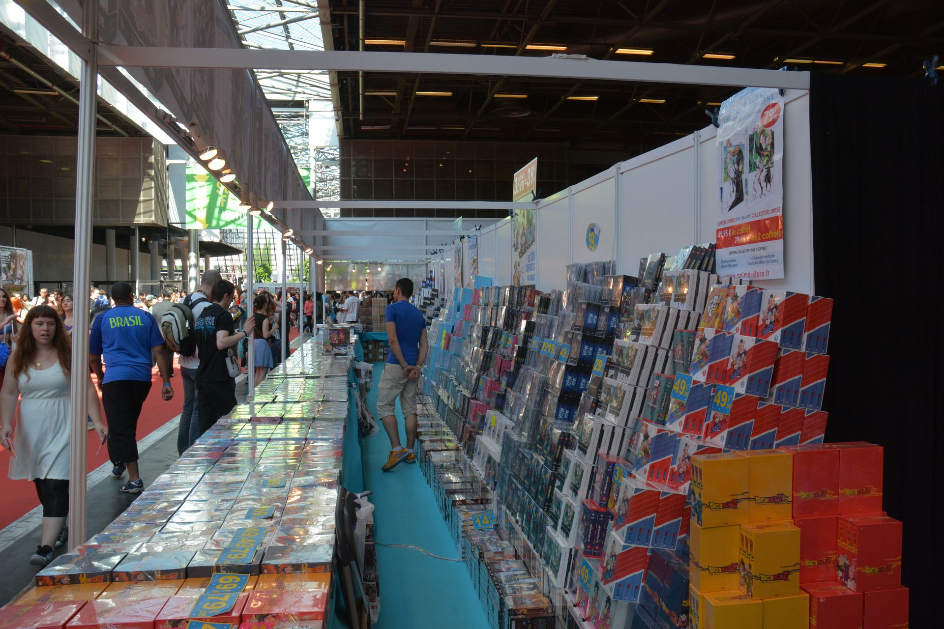 Japan Expo Les Stands : Japan expo cosplay et stands les photos page