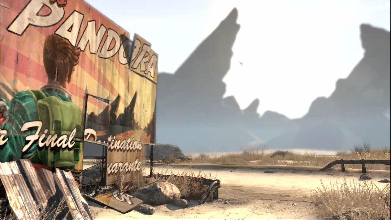 Images du jeu Borderlands (PC/Xbox 360/PS3) :
