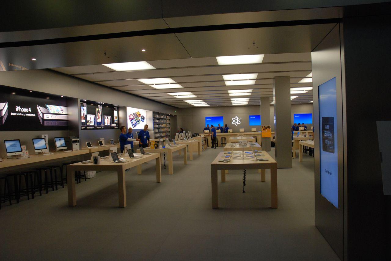 ouverture de l 39 apple store velizy 2 page 1 gamalive