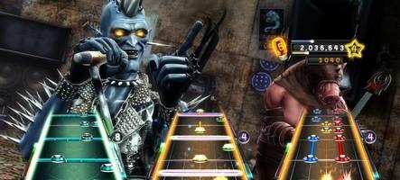 GH : Warriors of Rock et DJ Hero 2 en démo sur le Live