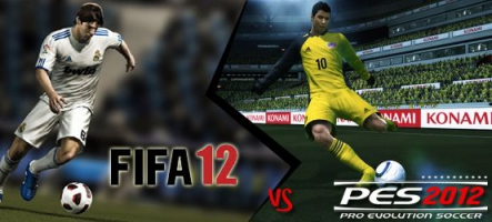 (Preview) Pro Evolution Soccer 2012 contre FIFA 12