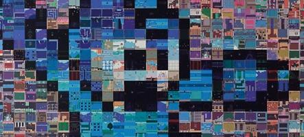 Mega Man se décline en mosaïque