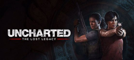 Uncharted : The Lost Legacy est gold
