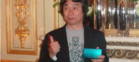 Rencontre avec Shigeru Miyamoto à Paris