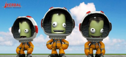 Kerbal Space Program à la conquête de la WiiU et de son gamepad