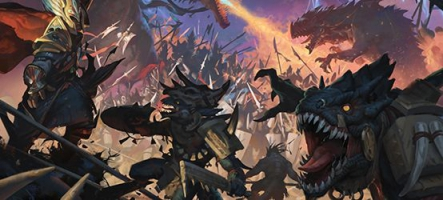 Total War: Warhammer II, un elfe noir, c'est noir