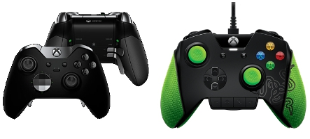 Microsoft et Razer proposent leurs versions de la manette Xbox One pour joueurs professionnels