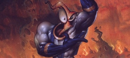 Earthworm Jim debarque sur le Playstation Network