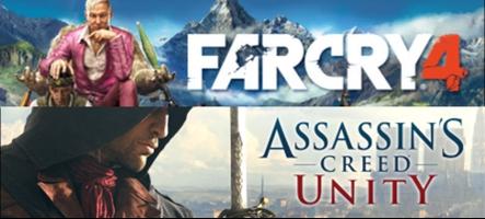 Far Cry 4 et Assasin's Creed: Unity disponibles en précommande sur Steam