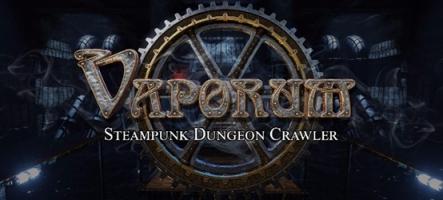 Vaporum : Un jeu de rôle Steampunk