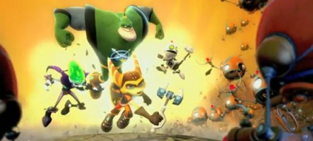 Ratchet & Clank All 4 One, la puissance de feu de la PS3