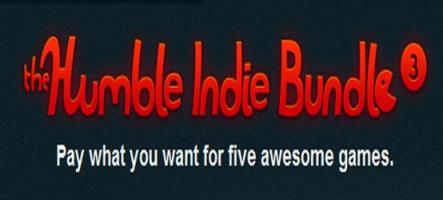 The Humble Indie Bundle #3 : 5 jeux à votre prix