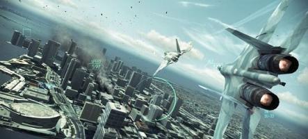 (GamesCom) Ace Combat Assault Horizon s'est laissé astiquer le missile
