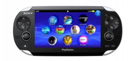 La PlayStation Vita sortira en mars 2012 en France et aux USA