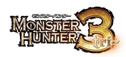 Monster Hunter 3G annoncé sur Nintendo 3DS
