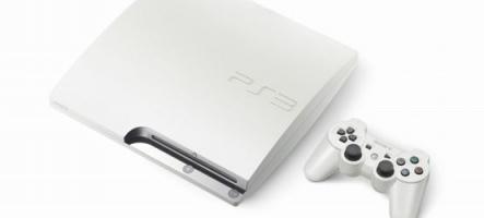 Une PS3 blanche pour Noël