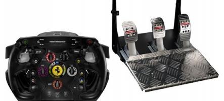 Un nouveau volant Ferrari Thrustmaster pour PC et PS3