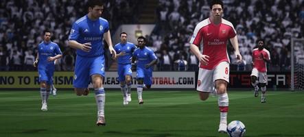 FIFA 12 s'est vendu 25 fois plus que PES 2012 en Angleterre