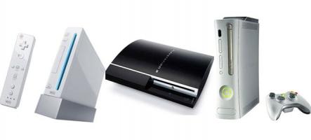 Chiffres de vente : La Xbox 360 toujours devant la PS3