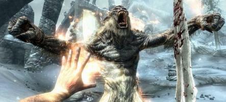 The Elder Scrolls V : Skyrim fête son lancement dans le sang