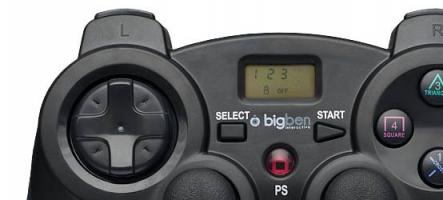 Big Ben Interactive lance la manette PS3  et PC ultime avec Contrôle Parental !