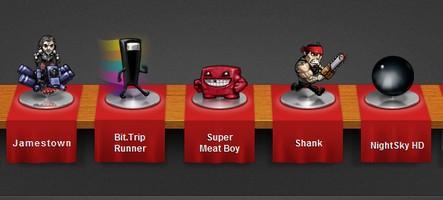 Sept jeux à prix cadeau avec le Humble Indie Bundle 4