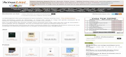 Un p'tit ebook ? Fouillez la bibliothèque d'ActuaLitté avec Google Books