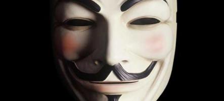 Anonymous n'attaquera pas le PSN mais veut quand même se farcir Sony