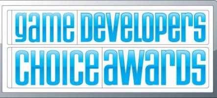 Les nominés du Game Developers Choice Awards dévoilés