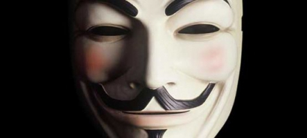Manifestation des Anonymous en France